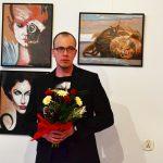Olecki twórca zaprezentował fantazyjne portrety