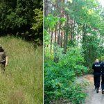 Szczęśliwy finał poszukiwań grzybiarza, który zasłabł w lesie pod Bartoszycami. Wyczerpanego 60-latka znaleziono po kilku godzinach