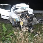 Tragiczny wypadek pod Ostródą. Kobieta zjechała na pobocze i uderzyła w drzewo