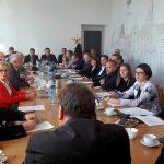 Samorządowcy z zalanych gmin uczestniczyli w obradach sztabu kryzysowego. Wszyscy liczą na pomoc, nie tylko finansową