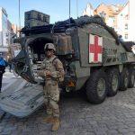 Nowa zmiana żołnierzy amerykańskich w Polsce. Dziś można było ich spotkać w Elblągu