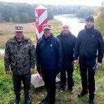 Strażnicy graniczni z Finlandii z wizytą na Warmii i Mazurach
