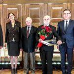 Profesor Roman Jurkowski odebrał nagrodę prezydenta Olsztyna w dziedzinie historii