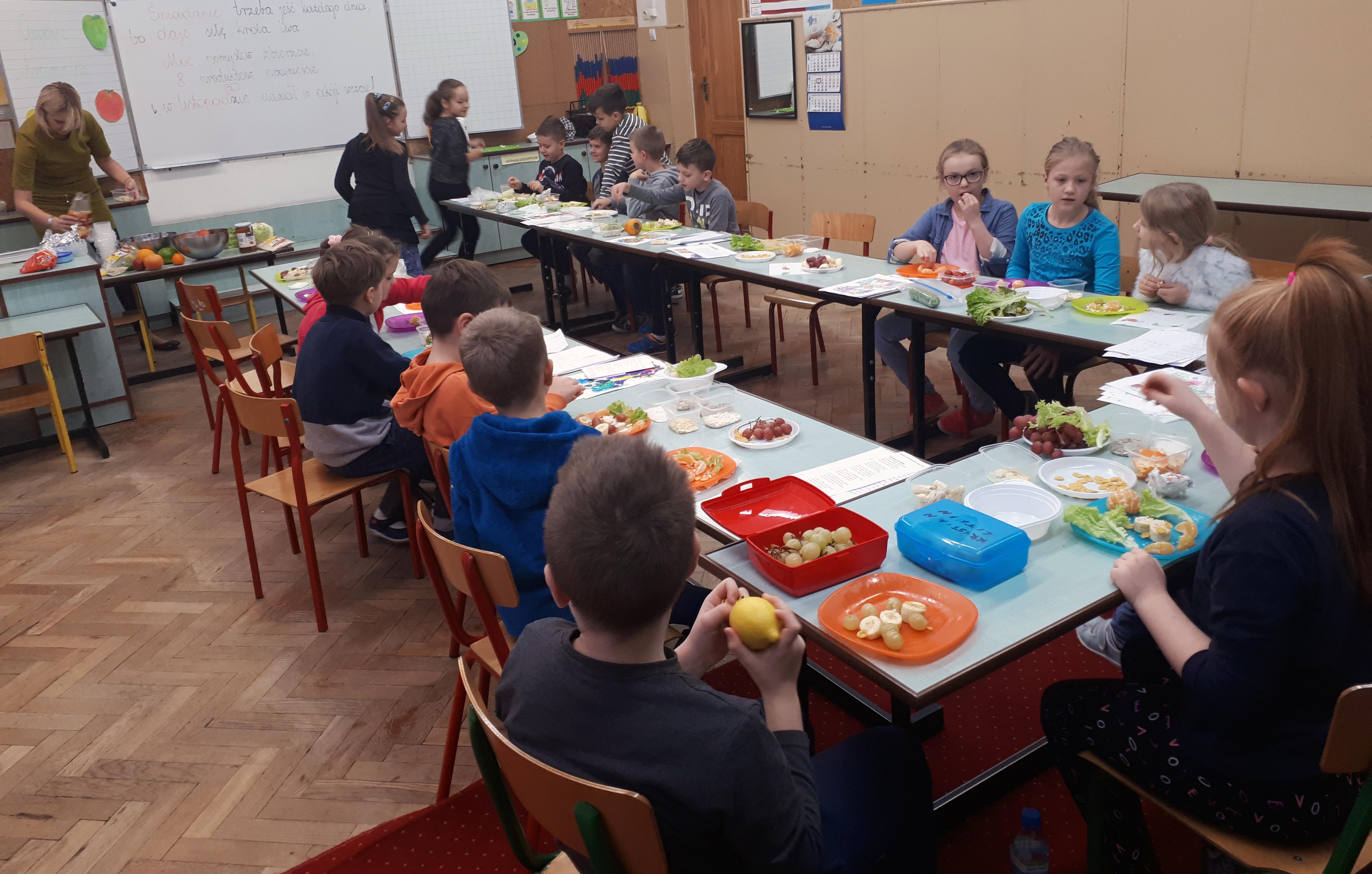 Zakonczyla Sie Kampania Sniadanie Daje Moc Dzieci Poznaly Zasady