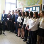 W murach ukraińskiej szkoły rozbrzmiewały Mazurek Dąbrowskiego, Rota i Bogurodzica