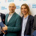 """Zespół twórców słuchowiska """"Zachwyceni"""" laureatem nagrody imienia Maryny Okęckiej-Bromkowej"""
