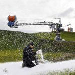 Na Warmii i Mazurach powstała największa fabryka śniegu w Europie. Produkcja nie stanie nawet przy wysokich temperaturach