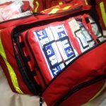 Strażacy ochotnicy z powiatu ełckiego otrzymali sprzęt do udzielania pierwszej pomocy