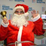 Do nas też przyszedł Mikołaj  i usiadł przy mikrofonie
