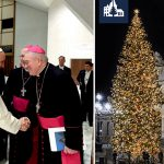 Papież podziękował za choinkę z Warmii i Mazur: To znak wiary Polaków