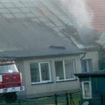Pożar w domu Gałdowie. Mieszkańcy  stracili dach nad głową