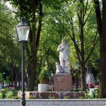 Odnowiono nagrobek mazurskiego poety Michała Kajki