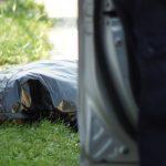 Martwy czterdziestolatek znaleziony w stawie. Policja ustala jego tożsamość