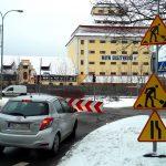 Zamknięto kolejny fragment ulicy Partyzantów w Olsztynie. Są nowe trasy autobusów MPK i przystanki