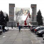 """""""Pomnik wdzięczności za zniewolenie"""". Kolejna akcja środowisk patriotycznych w centrum Olsztyna"""