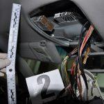 Przemytnicy ukryli papierosy niemal każdej w części auta. Próbowali przewieźć ponad 2 tysiące paczek