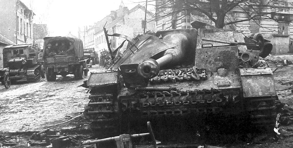 Сегодня 73 года с момента занятия Ольштына Красной Армией