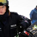Bez lizaka, za to z alkomatem. Policjanci rozpoczęli pracę na stoku w Elblągu