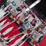 Polacy wygrali drużynowy konkurs, a Kamil Stoch ustanowił rekord Wielkiej Krokwi