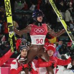 Po raz pierwszy polska drużyna skoczków narciarskich wywalczyła medal olimpijski