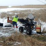 Kierowca quada usłyszał zarzut nieumyślnego spowodowania śmierci. Kulig na zamarzniętym jeziorze skończył się tragicznie