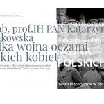 """""""Wielka wojna oczami polskich kobiet"""". W Ełku rozpoczyna się cykl wykładów Niepodległa"""