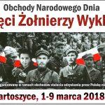 Program obchodów Narodowego Dnia Pamięci Żołnierzy Wyklętych w Bartoszycach