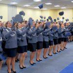 Pierwsze nominacje oficerskie w tym roku. Szkołę w Szczytnie ukończyło 185 policjantów
