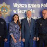 Wyższa Szkoła Policji nawiąże współpracę z ukraińskim Uniwersytetem? W Szczytnie gościł Andrii Fomenko