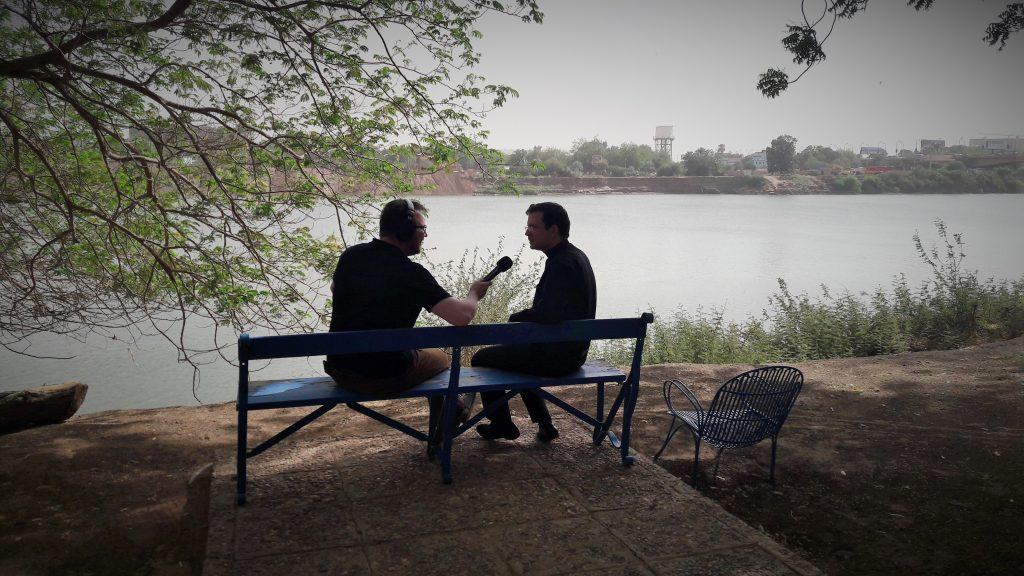 Nad brzegiem Nilu Błękietnego