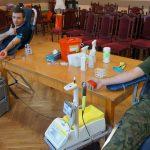 Mundurowi dzielą się krwią. Chcą pomóc chorym i ofiarom wypadków