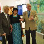 Wystawa Wojnickich w Galerii Ślad w Ełku