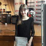 Sylwia Lewicka i Aleksandra Jeznach laureatkami IV Ogólnopolskiego Festiwalu Piosenki Jacka Kaczmarskiego w Olsztynku