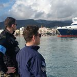 Funkcjonariusze z Warmii i Mazur powrócili z misji na wyspie Chios