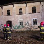 Po raz kolejny paliły się koszary przy ul. Gietkowskiej w Olsztynie