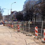 Na ulicy Partyzantów w Olsztynie robotnicy znaleźli pocisk