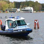 Policjanci rozpoczynają służbę na wodzie. Mają do dyspozycji 30 łodzi