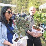 W Olsztynie trwają Wiosenne Targi Ogrodnicze