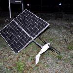 Złodziej paneli słonecznych złapany na gorącym uczynku