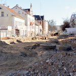 Przebudowa ulicy Partyzantów w Olsztynie opóźni się o kilka miesięcy. ZDJĘCIA