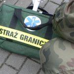Pogranicznik uratował życie funkcjonariuszowi policji skarbowej