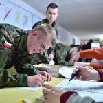 Terytorialsi rozpoczęli służbę wojskową. W Morągu wcielono pierwszą grupę ochotników