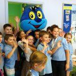 Uczniowie olsztyńskiej podstawówki uczcili Dzień Europy