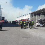 Działanie celowe czy samozapłon? Co mogło być przyczyną pożaru w olsztyńskim ZGOK-u?