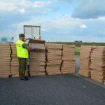 Straż graniczna odkryła kontrabandę wartą ponad 400 tysięcy złotych