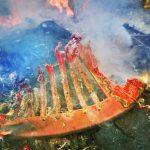 Tragiczny pożar w Rukławkach koło Biskupca. Nie żyje mieszkaniec podwarszawskich Ząbek