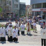 Boże Ciało 2018. Tłumy wiernych przeszły ulicami Olsztyna. ZDJĘCIA
