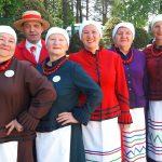 Wspólne muzykowanie w Stawigudzie koło Olsztyna. W tegorocznej Kurlantce bierze udział 36 zespołów