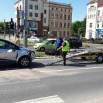 W Olsztynie wprowadzono skrzyżowania kolizyjne. Doszło do kilku stłuczek