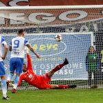 Sensacyjne zwycięstwo Stomilu z GKS-em. Biało-niebiescy walczą dalej o utrzymanie w I lidze